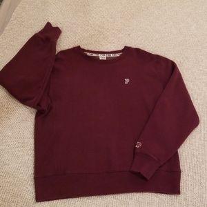 Victoria's Secret Pink boyfriend sweatshirt